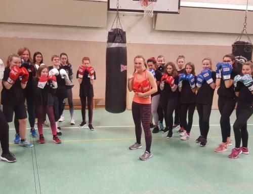 Box dich stark im Kinder- und Jugendzentrum Lamme